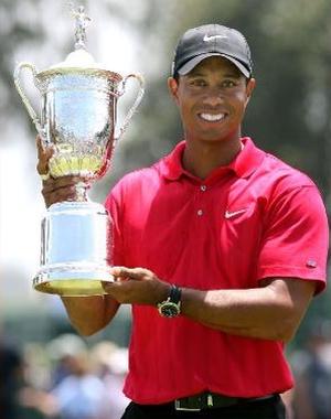 #1 Tiger Woods